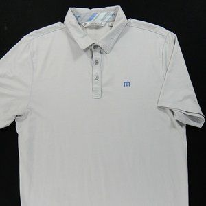 Travis Mathew 3 Button S/S Golf Polo Shirt